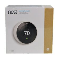 New Nest Learning Thermostat 3rd Generation WiFi Universal T3017US - White