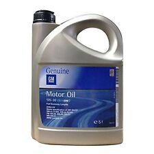 5w 30 GENUINE GM VAUXHALL BMW FULLY SYN. ENGINE MOTOR OIL 5L DEXOS 2 oil