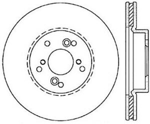 Stoptech 128.40046L ST Drilled Sport Brake Rotors