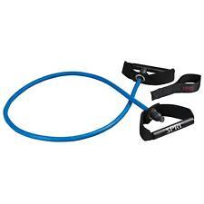 Spri Xertube Resistance Band Exercise Cord with Door Attachment, Blue- Heavy