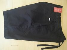 Levis Men's Leisure Black Shorts with Pockets Regular Fit Flat Front XSmall $50