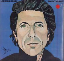 "LEONARD COHEN "" RECENT SONGS "" LP SIGILLATO CBS-CGD 1979 ITALY"