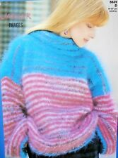 """JAEGER Knitting Pattern 5525 - Ladies Mohair Boxy Sweater 32""""-38"""" Not a copy"""