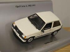 SCHUCO OPEL CORSA A (VAUXHALL NOVA) WHITE 1982 CAR MODEL 90399894 1:43