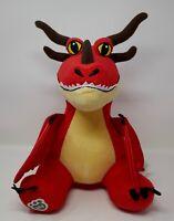 "Build A Bear How to Train Your Dragon Hookfang Dragon 15"" Plush Stuffed Animal"