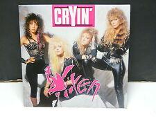VIXEN Cryin 203232 7 Guest SCORPIONS Tournée francaise sur couverture au dos