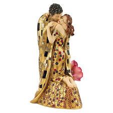 Art Nouveau Lovers The Kiss Statue Romantic Sculpture