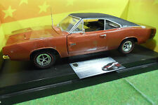DODGE CHARGER R/T 1968 bronze 1/18 AMERICAN MUSCLE ERTL 36573 voiture miniature
