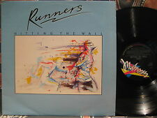 RUNNERS Hitting The Wall ~ 1983 Oz Rock (Australia) LP - Mark Edwards
