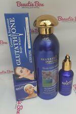 Abebi White Glutathione Injection Gluta Kojic Milk, Face cream, Tube and Serum