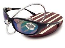 NEW Costa Del Mar HARPOON Black & 580 Green Mirror Glass 580G