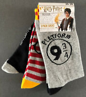 3 Paar Harry Potter Kinder Socken Gryffindor Jungen Mädchen Damen Strümpfe 23-38