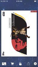 Topps Star Wars Digital Card Trader Red Battle For Republic Mace Windu Insert