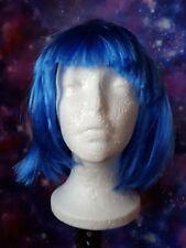 Dark Blue Short Wig Cosplay Kawaii Harajuku Pastel Goth
