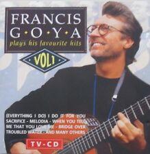 FRANCIS GOYA - PLAYS HIS FAVOURITE HITS - VOL.1  -  CD