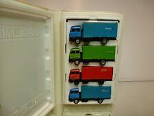 EFSI 4x DAF 3300 TRUCK POSTGIRO POSTBANK PTT TELECOMMUNICATIE 1:87- GOOD IN BOX