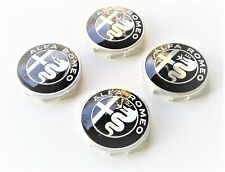 GENUINE ALFA ROMEO 159 BRERA & SPIDER  New Alloy Wheel Center Caps Set 50541227