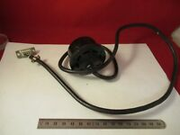 NIKON LAMP BULB HOLDER CABLE MICROSCOPE PART AS PICTURED #66-A-60