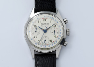 Wittnauer Professional Chronograph Valjoux 72 6002/5 Watch - NO RESERVE