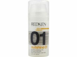 Redken Outshine 01 Anti-Frizz Polishing Milk 3.4 fl oz