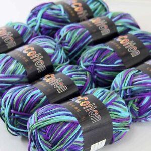 Sale New 8BallsX50g Home Decor Cotton Soft Wrap Shawl Hand Knit Crochet Yarn 22