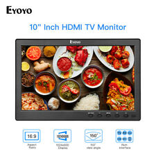 "Eyoyo 10""Monitor HDMI/VGA/AV/USB 1024x600 16:9 +Stand for Raspberry Pi PC Camera"
