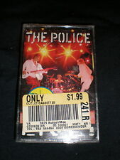 The Police CASSETTE Live NEW