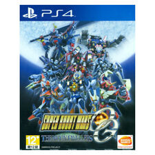 SUPER ROBOT WARS OG The Moon Dwellers PS4 2016 Chinese Factory Sealed