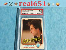 1981 O-Pee-Chee #112 LEE FOGOLIN | Oilers | Near Perfect PSA 9 Mint | 4 10's+