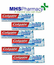 6 X COLGATE ADVANCED WHITENING 14 DAY TOOTH PASTE 100ML