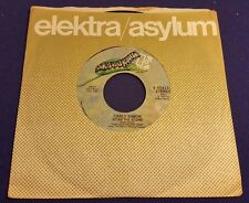 CARLY SIMON Nobody Does It Better/After the Storm 45 Record Elektra Records