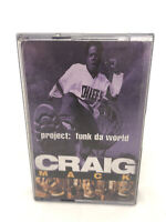 CRAIG MACK 'Project: Funk Da World'  Cassette Tape Album (1994) Arista