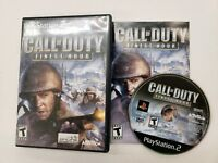 Call of Duty: Finest Hour - CIB Complete - PS2 (Sony PlayStation 2) FREE S/H