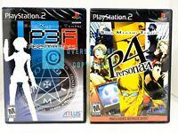 Shin Megami Tensei: Persona 3 FES + Persona 4 - PS2 - Brand New | Factory Sealed