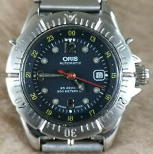 Rare ORIS DIVERS Date Ref B-7426 All Stainless steel Automatic 30mm LADIES Watch