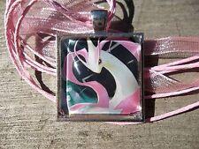 Pokemon Milotic Cute Cosplay Pendant Glass Custom Charm Necklace Trading Card