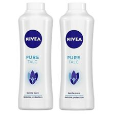 Nivea Pure Talc, 400 gm (pack of 2)