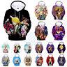 The Seven Deadly Sins Nanatsu no Taizai 3D Anime Hoodie Sweatshirt Pullover Coat