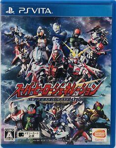 Sony PS Vita Super Hero Generation Japan Version US Seller