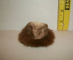 REPRODUCTION REPRO MATTEL BARBIE #1647 GOLD 'N GLAMOUR HAT ONLY 1965 NEW FB