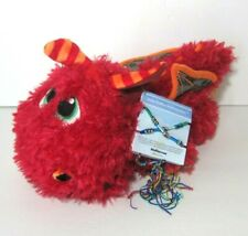 Baby Stuffies Stick Together Red Dragon Plush with 2 Friendship Bracelets New
