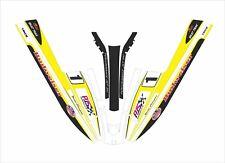 kawasaki 440 550 sx  js jet ski wrap graphics pwc stand up decal kit PJS yellow