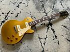 Vintage Rare 1971 Gibson Les Paul Standard 58 54 Reissue Gold Top with Case