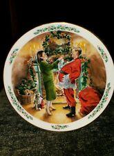 1991 Royal Doulton Family Christmas Dad Plays Santa Collector Plate England