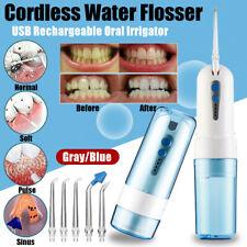 Electric Water Jet Pick Dental Flosser Oral Irrigator Teeth Tooth Wash  New
