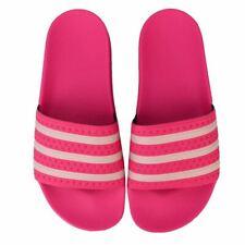 Para Mujer Adidas Originals Adilette Slide Sandalias En Rosa