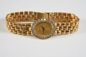 k47r15- 750er/ 18kt Gold Bucherer Armbanduhr mit Diamanten zus. ca. 2,20ct.
