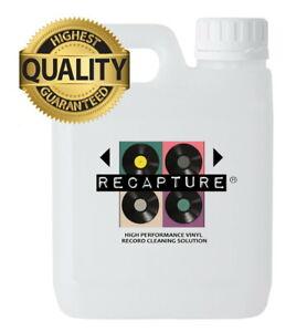 RECAPTURE Vinyl Record Cleaning Solution Fluid Liquid Cleaner 1Litre BEST VALUE