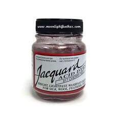 1/2 Oz Cherry Red Jacquard Acid Dyes Feathers Wool cashmere alpaca non-bleeding
