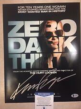 Zero Dark Thirty KATHRYN BIGELOW  Signed 11x14 Mini Movie Poster BECKETT BAS